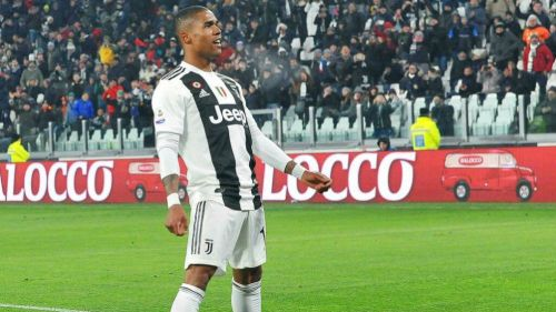 Douglas Costa, en un partido de la Juventus