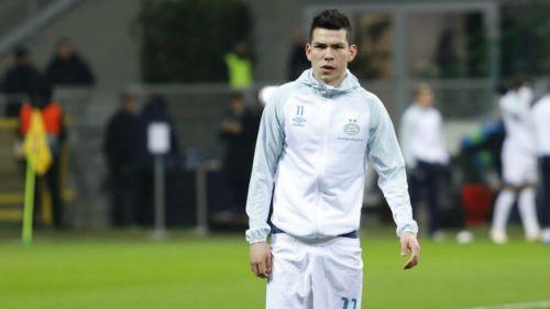 Lozano previa a un juego con el PSV