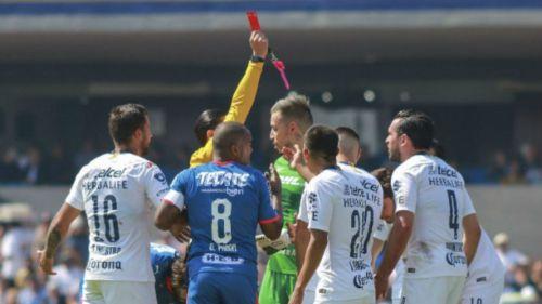 Retiran el castigo a Luis Quintana de Pumas