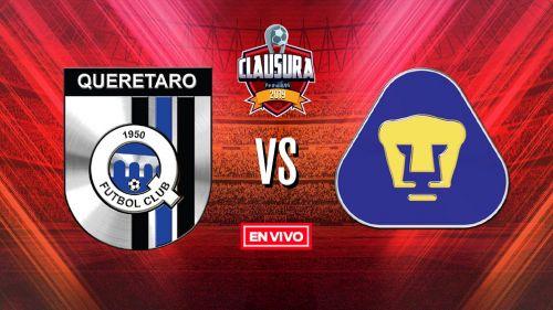 EN VIVO Y EN DIRECTO: Querétaro vs Pumas