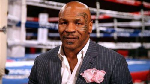 Mike Tyson, durante una entrevista