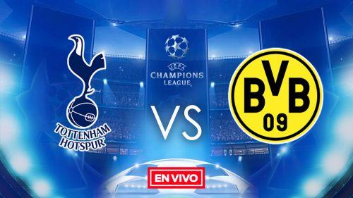 EN VIVO y EN DIRECTO: Tottenham vs Dortmund