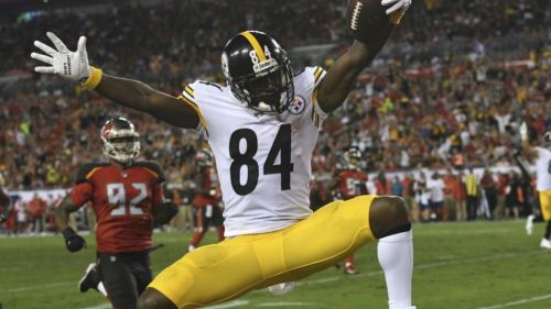 Antonio Brown le dice 'goodbye' a los Steelers