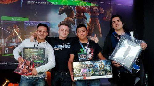 Los jugadores pudieron llevarse grandes premios por ganar el torneo de Jump Force