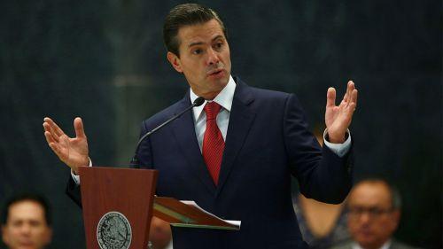 Peña Nieto en la entrega del Premio Nacional del Deporte