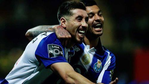 Héctor Herrera marca en la goleada del Porto al Tondela