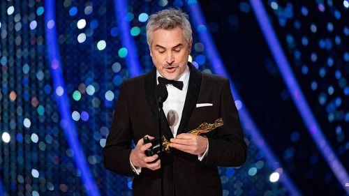 Alfonso Cuarón agradece por la estatuilla