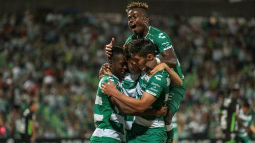 Santos venció a Marathón en los Octavos de Concachampions