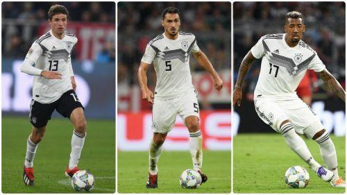 Sorpresa en Alemania: tres históricos, afuera de la selección