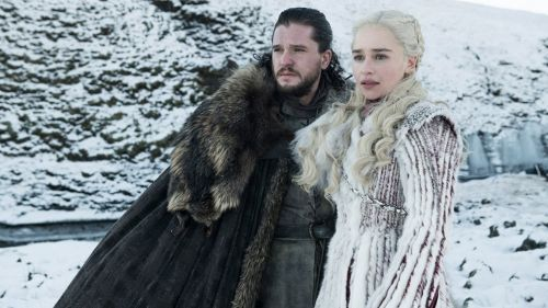 Jon Snow y Daenerys Targaryen, personajes de Game of Thrones