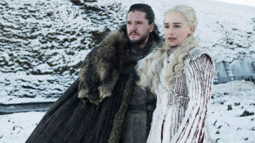 Jon Snow y Daenerys Targaryen, personajes de Game of Thrones