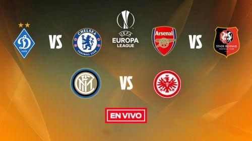 EN VIVO y EN DIRECTO: Europa League 8vos. de Final Vuelta