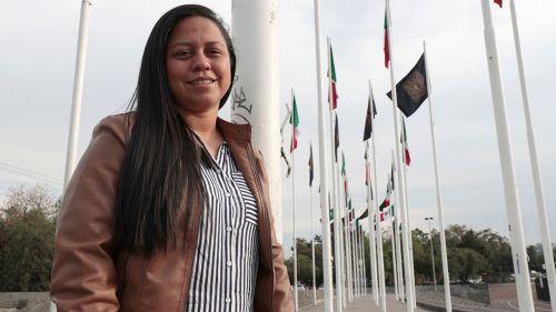 Debbie estuvo de visita en México para ver futbol de la Liga MX Femenil