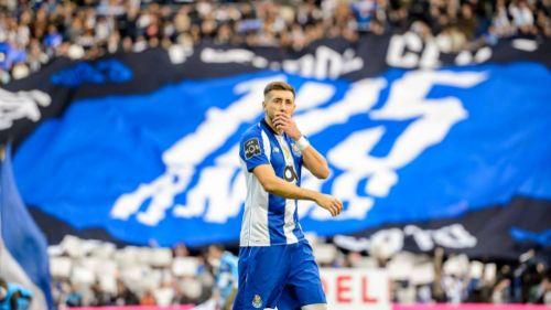 Herrera después de un partido del Porto