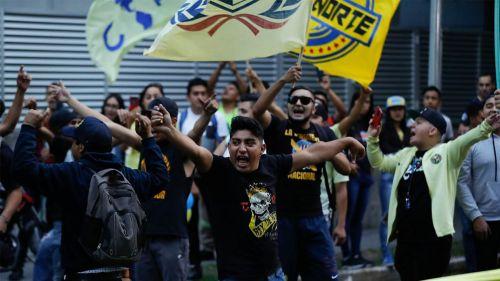 Afición recibe a las Águilas en Guadalajara