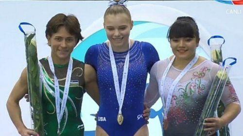 Alexa Moreno es finalista en Mundial de Gimnasia