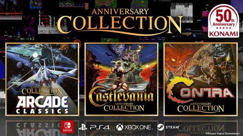 ¡Konami celebrará sus 50 años con colecciones de juegos clásicos!
