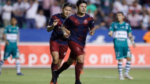 Eduardo López festeja gol ante Zacatepec