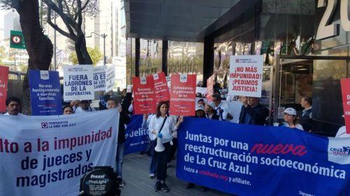 Cooperativa Cruz Azul presenta denuncia tras acusaciones en su contra