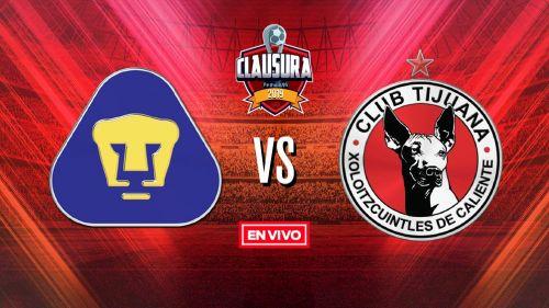 EN VIVO y EN DIRECTO: Pumas vs Tijuana