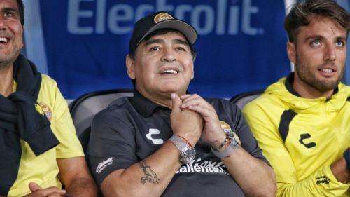 ¡Diego Maradona invitó a Ronaldinho a Dorados!