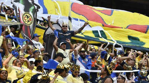 Jugadores del América presentes en el Estadio Azteca