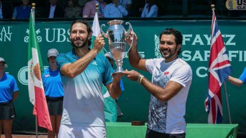 Santiago González y Aisam-Ul-Haq Qureshi festejan título
