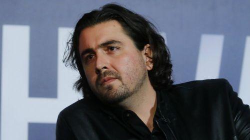 Amaury Vergara, durante un evento público