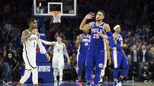 Baloncesto | Triple-doble de Simmons guía a 76ers a triunfo sobre Nets