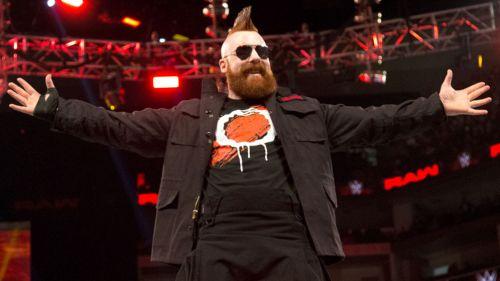 Sheamus en un show de WWE