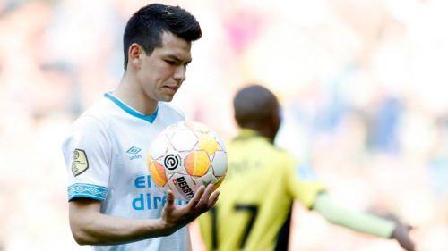 Termina temporada del 'Chucky' Lozano con el PSV por lesión