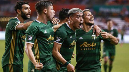 El ex Necaxa Brian Fernández tiene estreno goleador en la MLS