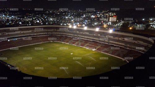 Así luce La Corregidora para el partido