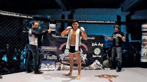 David Martínez, peleador mexicano de MMA