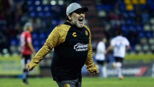Diego Maradona y sus condiciones para continuar como DT de Dorados