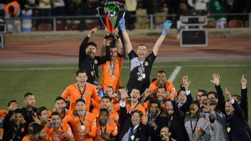 América festeja el Título de Copa MX