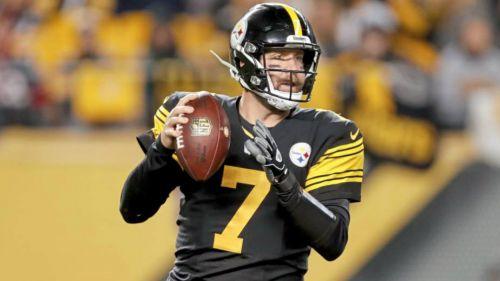 Ben Roethlisberger durante un juego con los Steelers