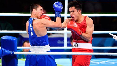 Misael Rodríguez, en combate de Río 2016