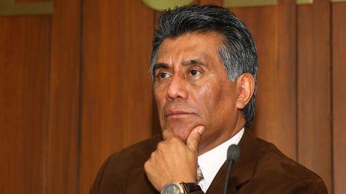 Ricardo Contreras en conferencia de prensa