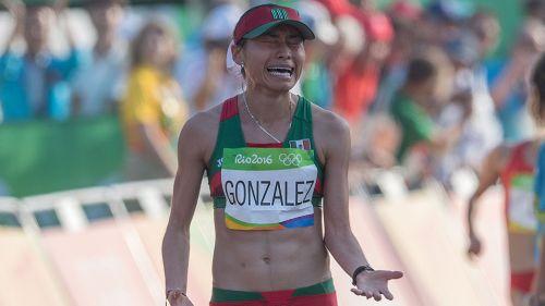 Lupita González, en Río de Janeiro 2016