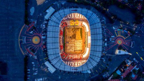 El Estadio Azteca se despide de su pasto híbrido El comunicado del