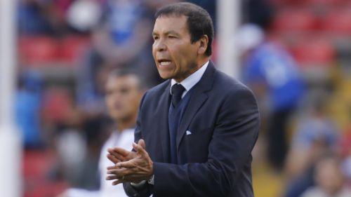José Cruz, durante un partido del Atlas