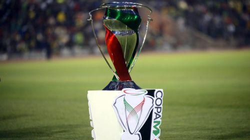 Trofeo de Copa MX disputado entre América y Bravos