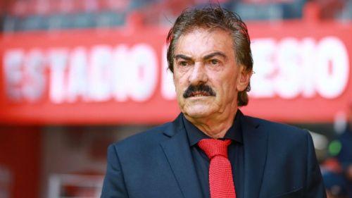 La Volpe, en el partido ante Querétaro
