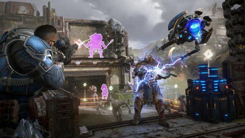 Gameplay del Gears of War 5