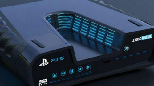 Posible modelo de la Play Station 5