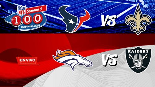 EN VIVO y EN DIRECTO: NFL Monday Night Football Semana 1
