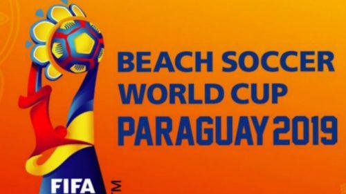 Logo del Mundial de Futbol de Playa