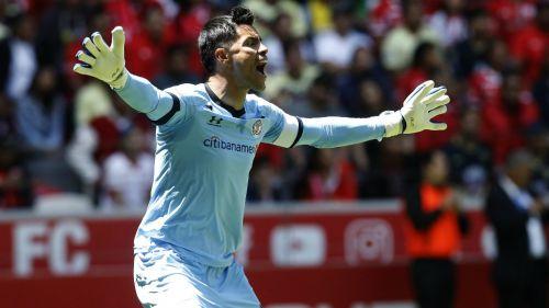 Alfredo Talavera durante un juego del Toluca