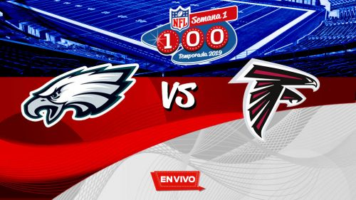 EN VIVO Y EN DIRECTO: Eagles vs Falcons